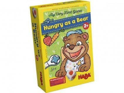 Haba HRA EN Moje první hra Hladový jako Medvěd 2+