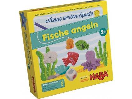 Haba HRA DE Moje první hra - Chytání rybiček