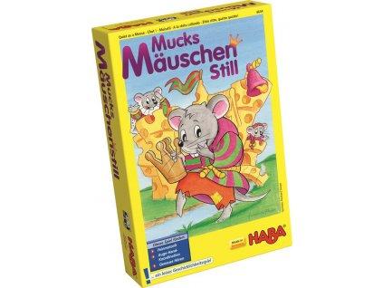 Haba HRA Dětská společenská hra Ticho jako myšky pozornost a motorika od 5 let