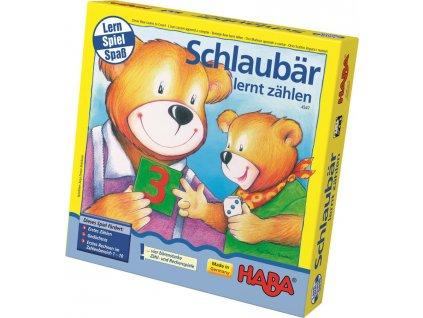 Haba HRA DE Moudrý medvídek - matematika