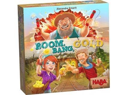 Haba Společenská hra pro děti Boom, Bang, Gold