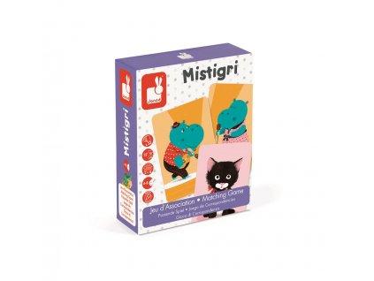 Janod Karetní hra pro děti Černá kočka na způsob hry Černý Petr od 4 let 2-6 hráčů