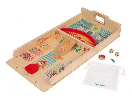 Janod Drevená stolová hra Shuffleboard