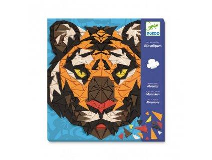2895 1 djeco mozaika zoo tygr a gorila