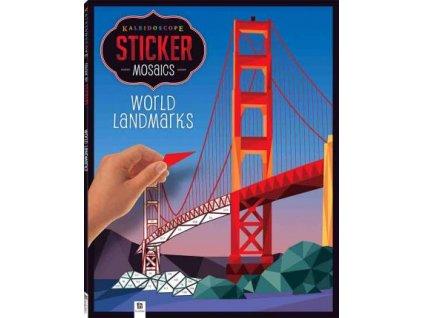 Kaleidoscope Sticker Mosaics: World Landmarks 6+