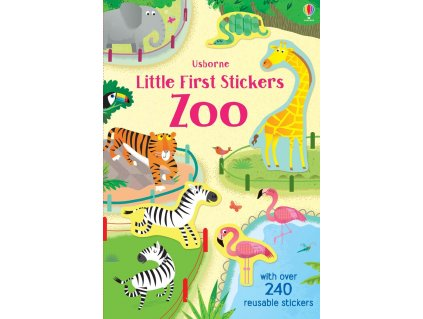 9781474950978 little first stickers zoo