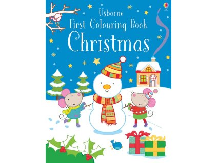 9781474956635 first colouring book christmas