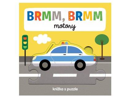 BRMM, BRMM motory Knížka s puzzle