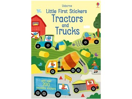 9781474968188 little first sticker tractors and trucks