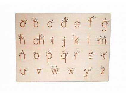 Malá tiskací písmena