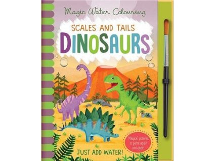 MAGIC WATER COLOURING: Dinosaurs