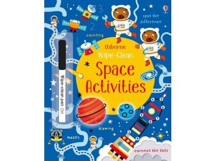 wipe clean space activites