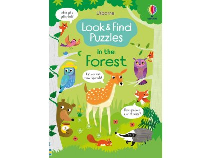 In the forest puzzles