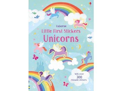 little first stickers unicorns