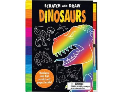 20341723 scratch and draw dinosaurs