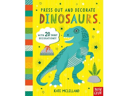 Press Out and Decorate Dinosaurs 699 1 600x742