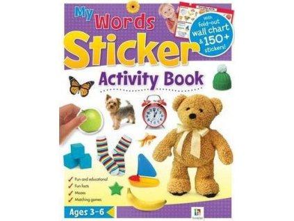 My words sticker activity book