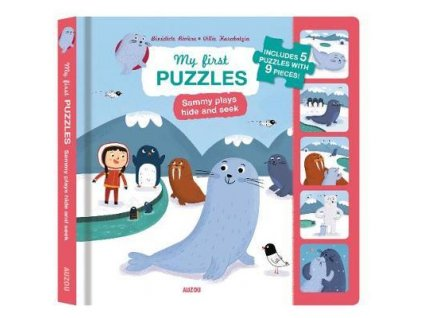 My First Puzzles: Sammy Plays Hide and Seek 9pcs