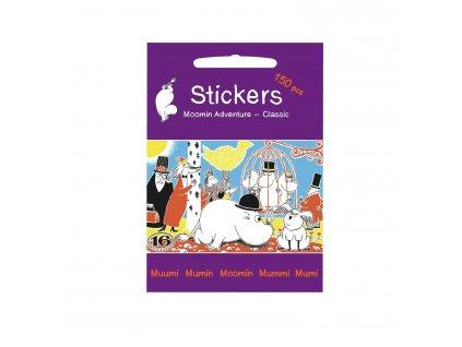 565 Klistermaerker Moomin Adventure 1