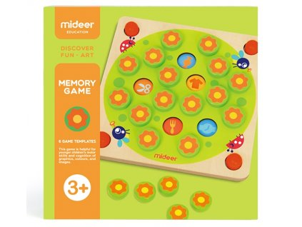 MiDeer Paměťová hra Tajná zahrada