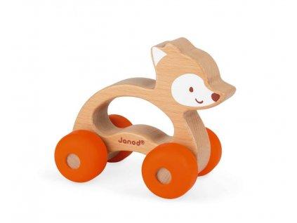 Janod Baby Pop Dřevěná hračka Liška