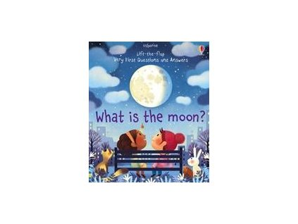 Lift-the-flap Very First Questions and Answers: What is the Moon?