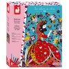 Janod Princezny z pohádek barevný písek s třpytkami Atelier Sada Maxi 5+