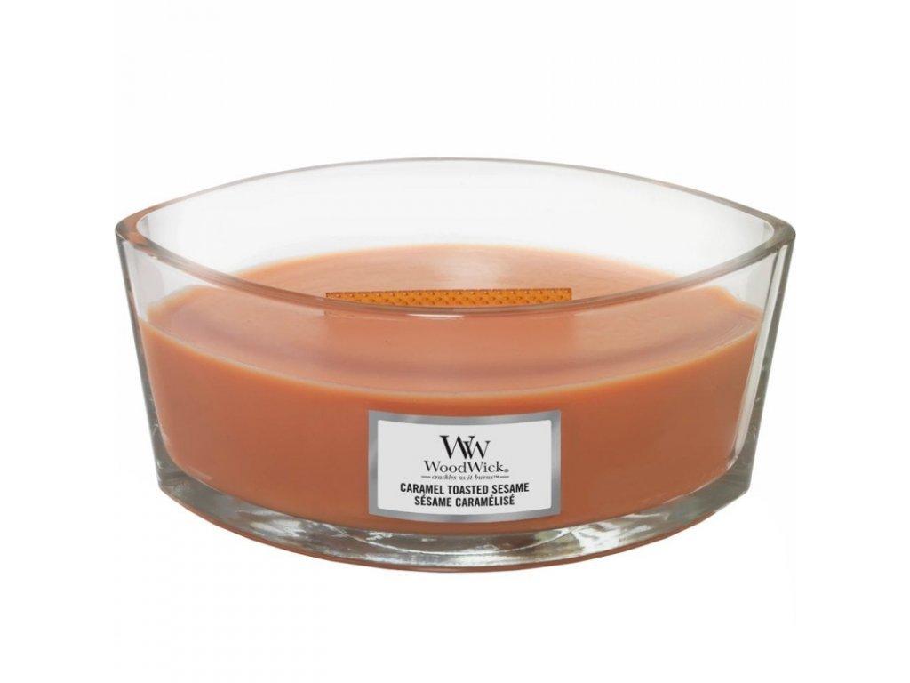 5942 woodwick caramel toasted sesame