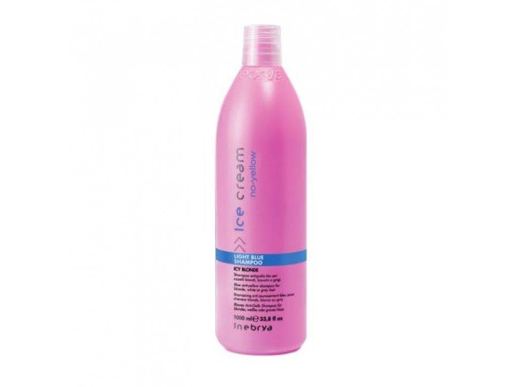 inebrya no yellow light blue shampoo 1000 ml