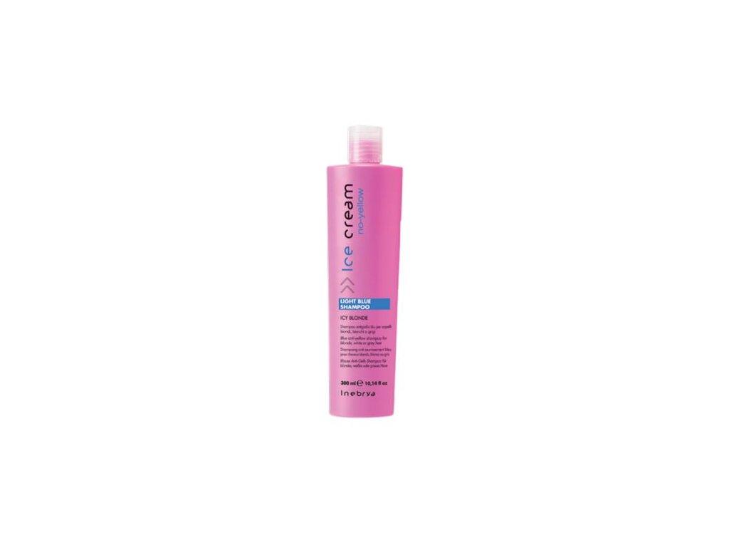 inebrya no yellow light blue shampoo 300 ml