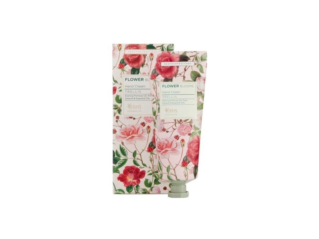 heathcote ivory flower blooms hand cream trellis 100ml