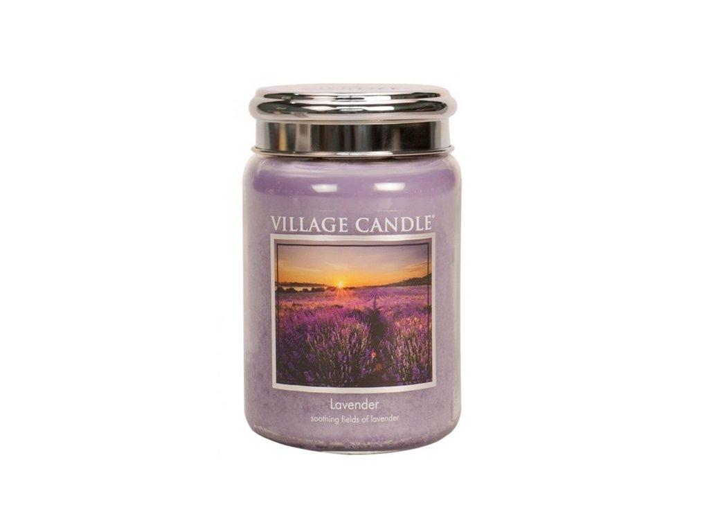 village candle lavender