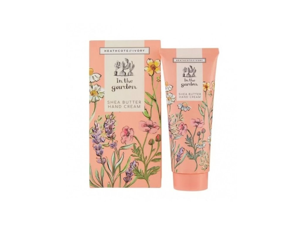 heathcote ivory hand cream in the garden shea butter 100ml