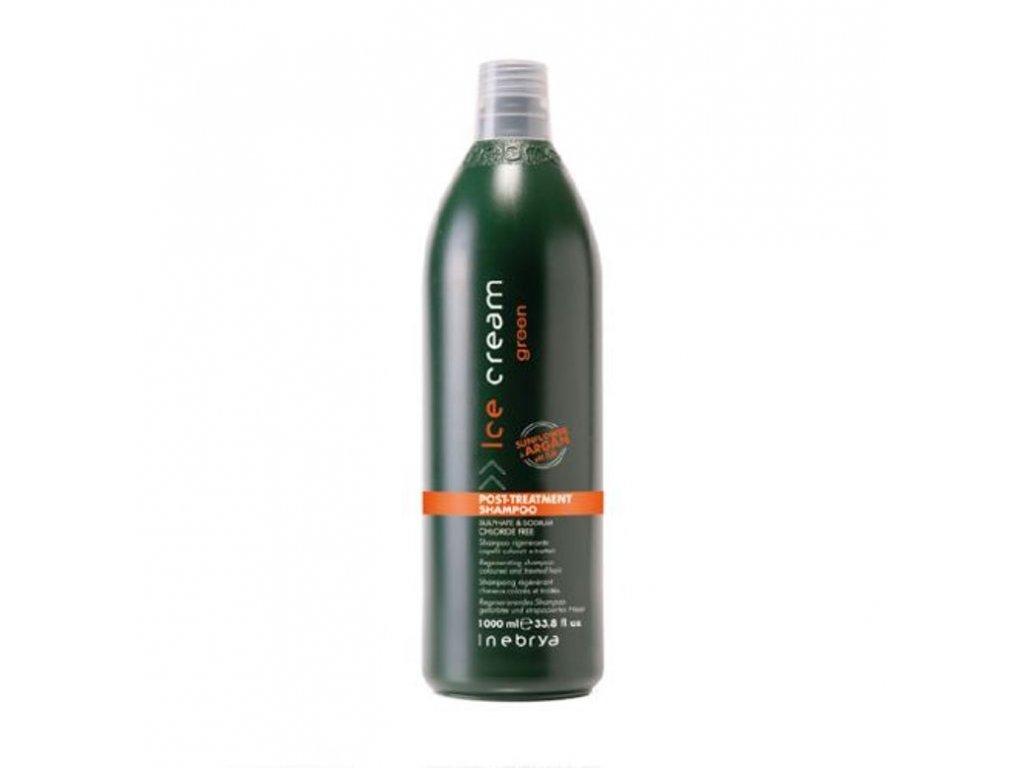 inebrya green post treatment shampoo 1000 ml