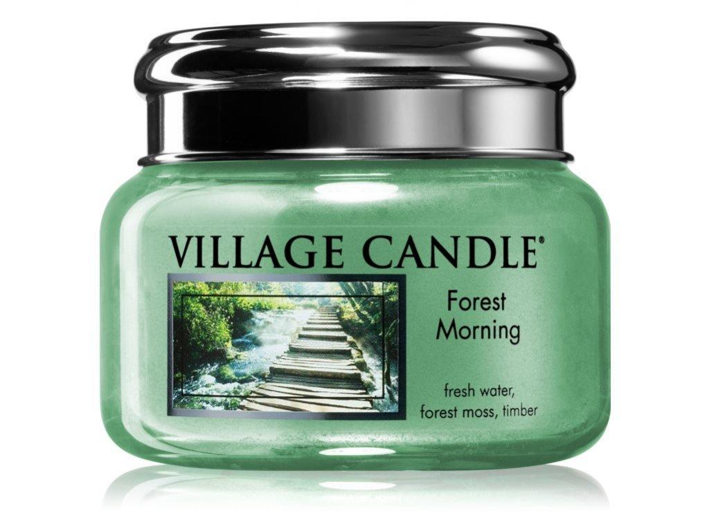 1458 village candle forest morning vonna svicka
