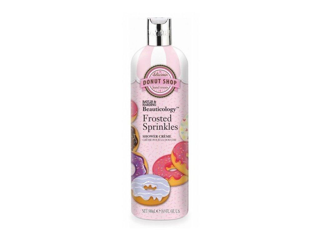 Baylis & Harding cream shower gel Donut shop sprchový krémový gel 500ml Ledové sypání