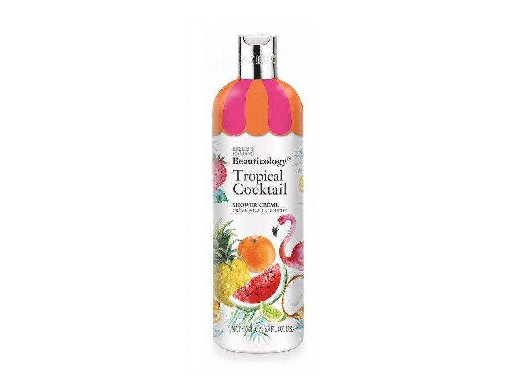 Baylis & Harding cream shower gel Tropical Cocktail sprchový krémový gel 500ml