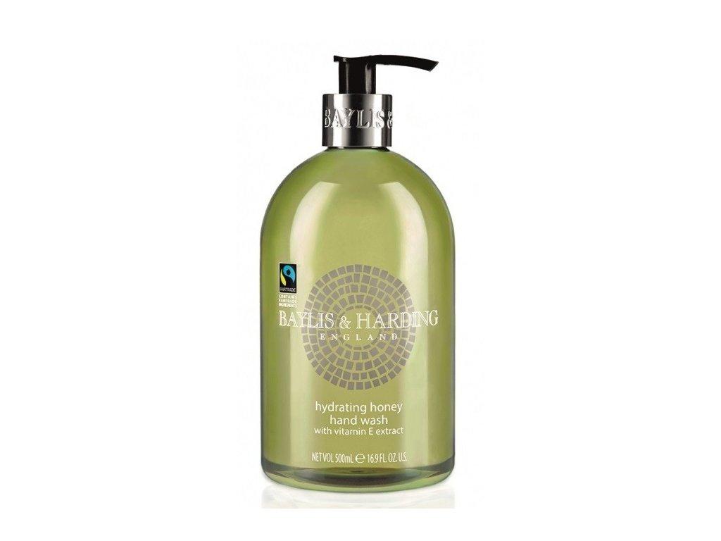 Baylis & Harding Hydrating hand wash Honey tekuté hydratační mýdlo 500ml