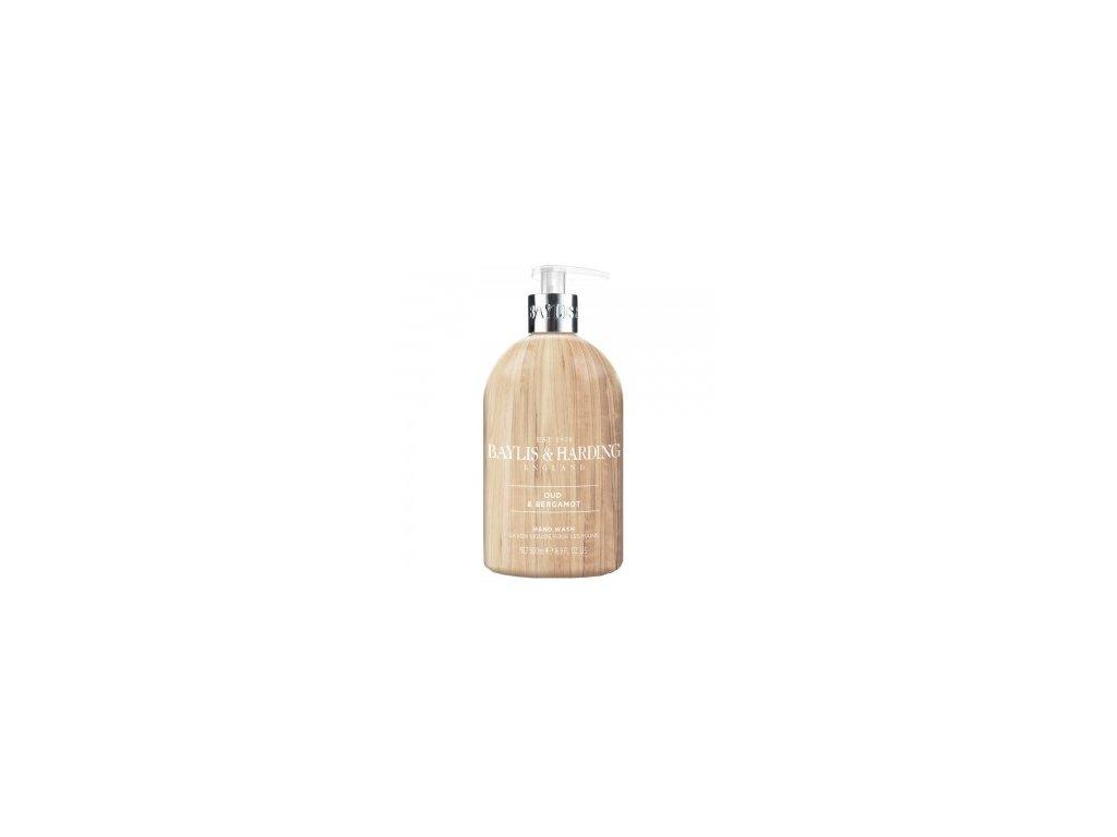 Baylis & Harding Oud Wood & Bergamot tekuté mýdlo na ruce 500ml
