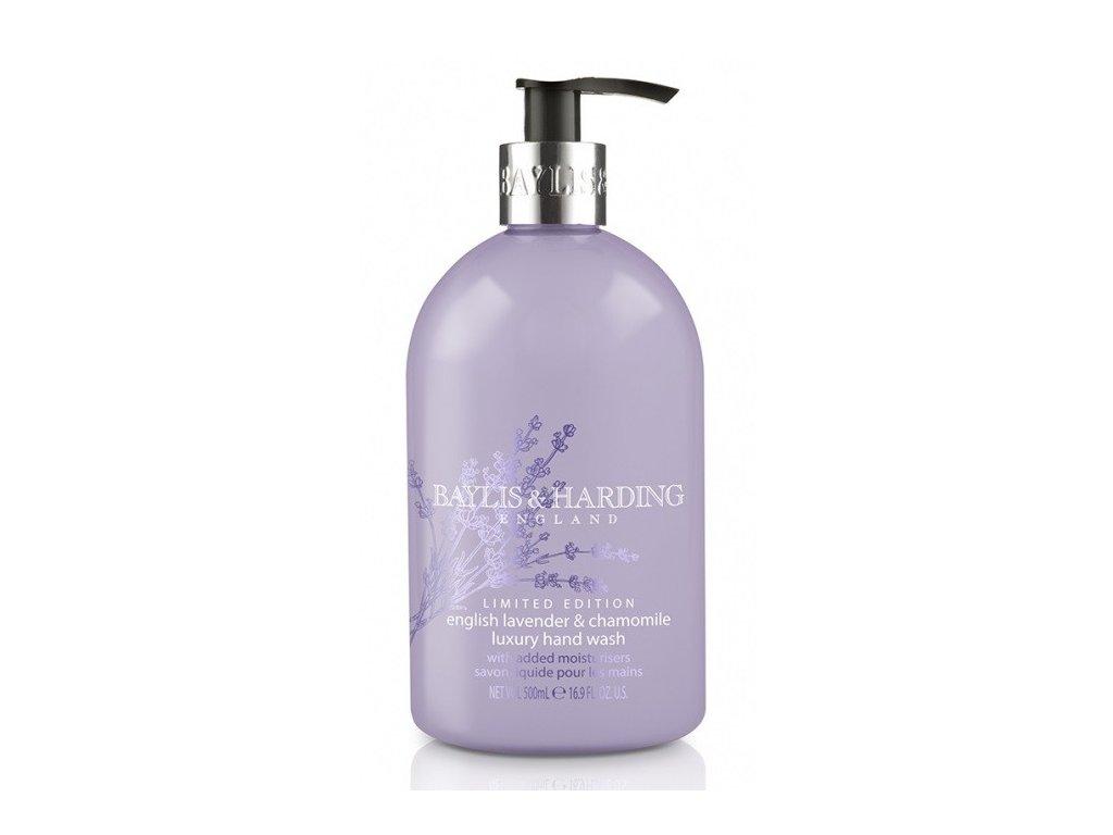 Baylis & Harding hand wash English Lavender & Chamomile tekuté hydratační mýdlo 500ml