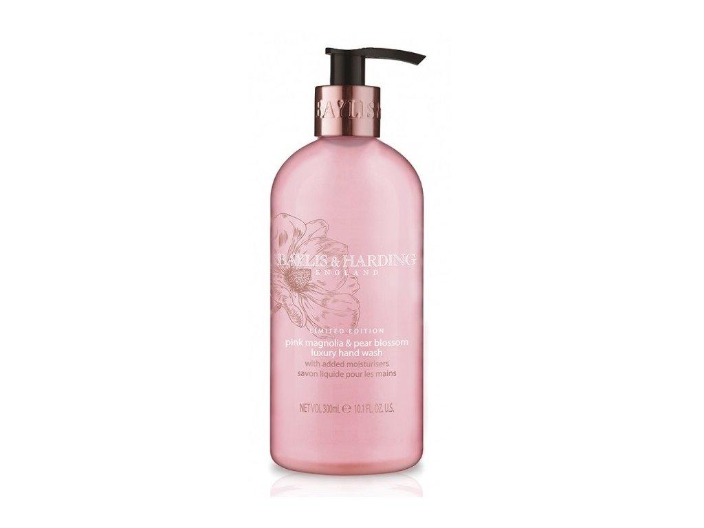 Baylis & Harding hand wash Pink Magnolia & Pear Blossom tekuté mýdlo 300ml