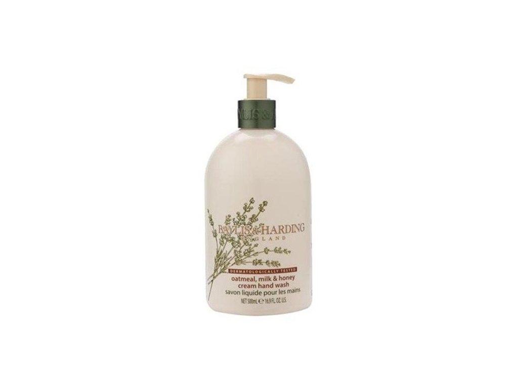 Baylis & Harding hand wash Oatmeal, Milk & Honey derma tekuté mýdlo na ruce 500ml
