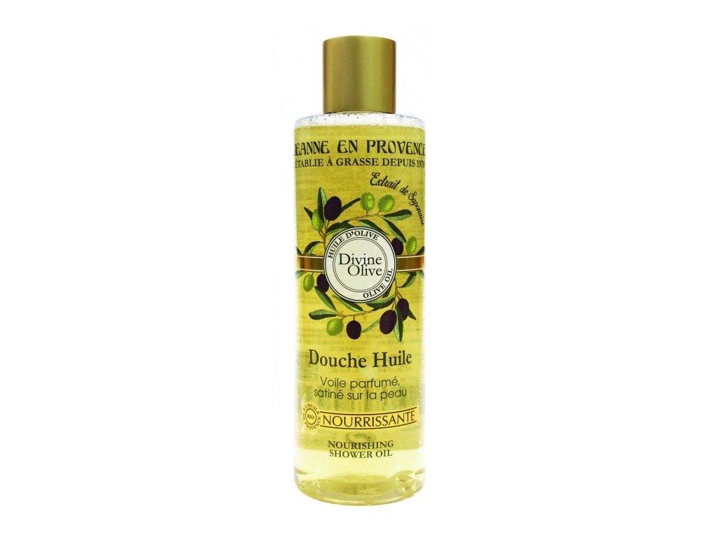 Jeanne en Provence Oliva výživný sprchový olej 250ml