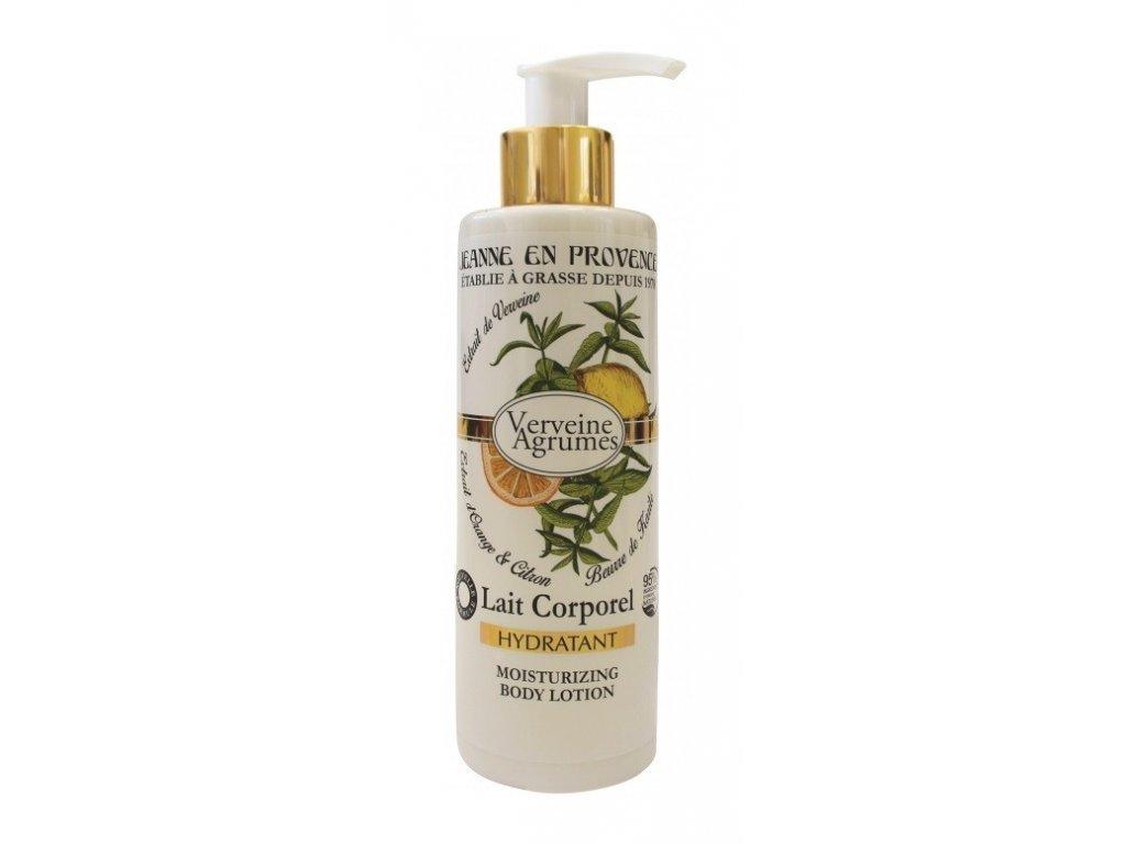 Jeanne en Provence Verbena a citron tělové mléko 250ml