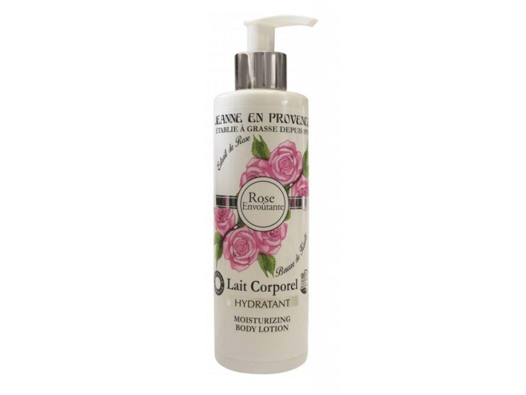 Jeanne en Provence Podmanivá růže tělové mléko 250ml