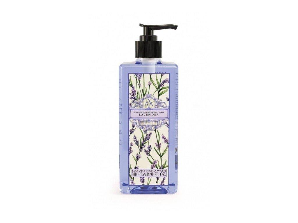 Aromas Artesanales de Antigua Lavender tekuté mýdlo na ruce 500ml
