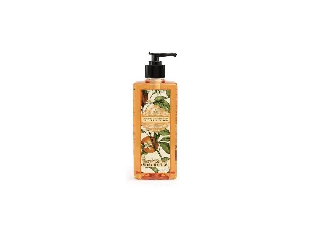 Aromas Artesanales de Antigua Orange Blossom tekuté mýdlo na ruce 500ml
