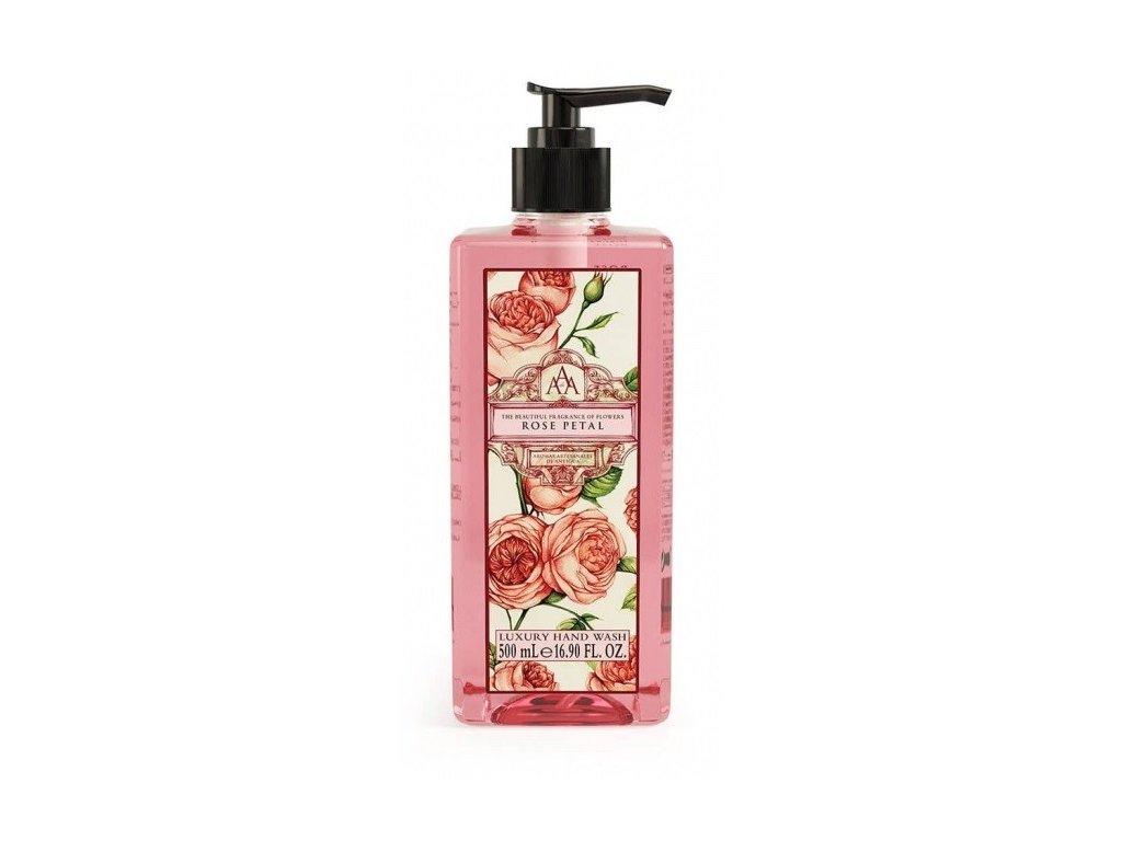 Aromas Artesanales de Antigua Rose Petal tekuté mýdlo na ruce 500ml