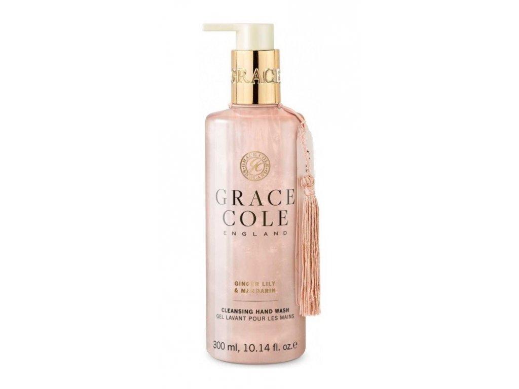 Grace Cole Ginger Lily &  Mandarin tekuté mýdlo 300ml