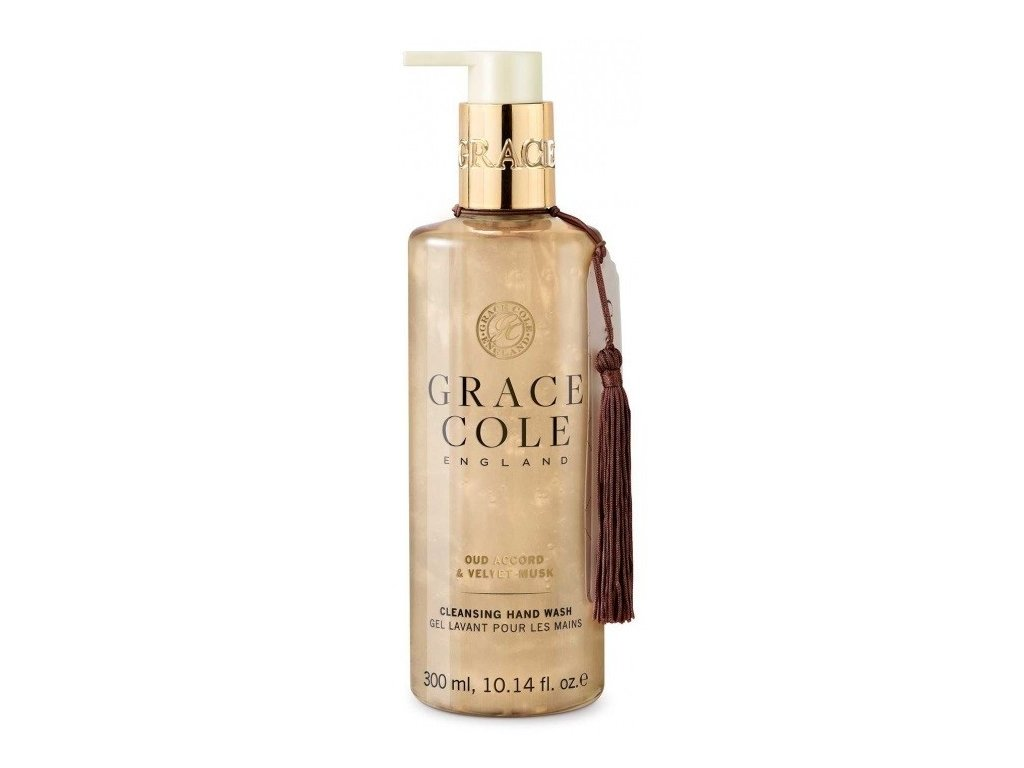 Grace Cole Oud accord &  Velvet Musk tekuté mýdlo 300ml